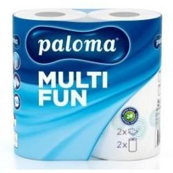 .Kuchyňské utěrky PALOMA Multifun tisk 2vrstvy 2role