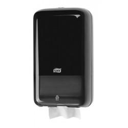 TORK 556008 Zásobník na WC papír skládaný černý plast T3
