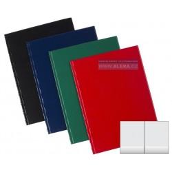 Složky A4 PVC SPORO dvojité s kapsami dole mix barev
