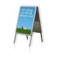 Zboží na objednávku - Clip rám A2 reklamní stojan A 42cm x 60cm