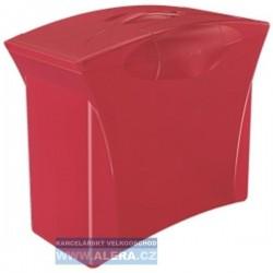 Zboží na objednávku - Zásobník na závěsné desky Esselte VIVIDA červená