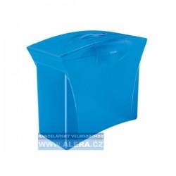 Zboží na objednávku - Zásobník na závěsné desky Esselte VIVIDA modrá