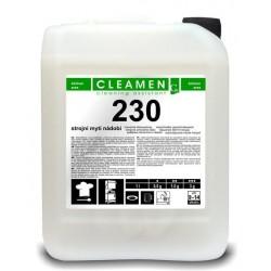Cleamen 230 - strojní mytí nádobí 5 litrů (6 kg)