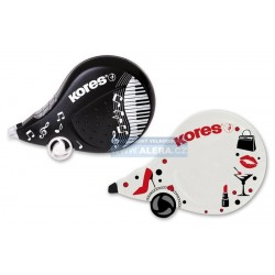 Korekční strojek Kores Scooter BLACK & WHITE