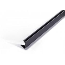 Zboží na objednávku - Násuvná lišta 9-12mm Durable 2912 černá