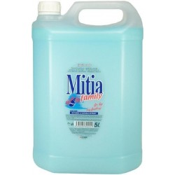 Mitia Family Ocean - tekuté mýdlo 5 litrů modrá
