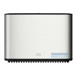 Zboží na objednávku - TORK 460006 Zásobník WC rolí průměr 19cm T Box NEREZ/plast T2