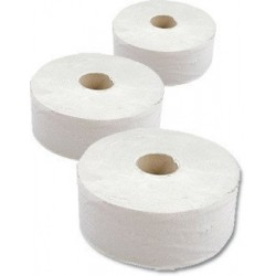 Papír WC JUMBO průměr 240mm 2vrs 100% celuloza 4086 / 6rolí