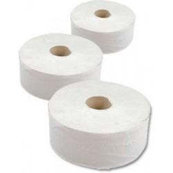 Papír WC JUMBO průměr 190mm 2vrs 100% celuloza BÍLÁ 4074 / 6rolí