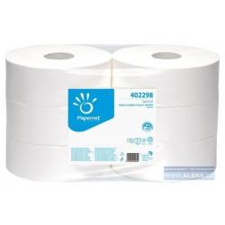 Papír WC JUMBO průměr 270mm 2vrs OVER premium 247m 100%celulóza bílý / 6rolí