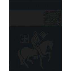 Zboží na objednávku - Blok Kolegia kroužkový A4 80listů linka Staufen Premium 90gr.černý