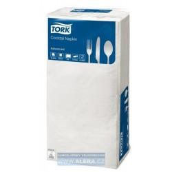 TORK 477534 Ubrousky 24x24cm - koktejlové papírové 2vrstv. bílé / 200ks N1