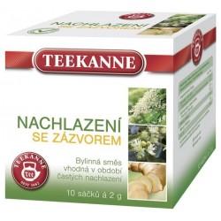 Čaj TEEKANNE bylinný Nachlazení , Dýchací cesty a krk se ZÁZVOREM