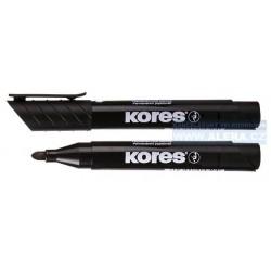 Popisovač permanentní Kores K-marker 3mm černý