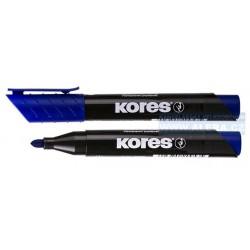 Popisovač permanentní Kores K-marker 3mm modrý