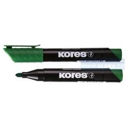 Popisovač permanentní Kores K-marker 3mm zelený