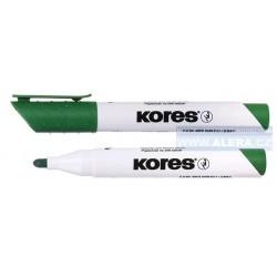Popisovač bílá tabule Kores K-marker 3mm zelený
