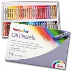 Zboží na objednávku - Pastely olejové Pentel PHN4-50 sada