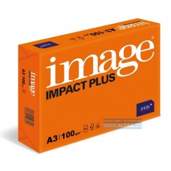 Papír Image Impact Plus A3 100gr 500listů /ORANŽOVÝ OBAL/