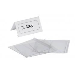Stolní jmenovka z PET plastu 63x150mm Durable 8049 5 ks v balení