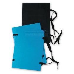 Desky spisové s tkanicí A3 jednostranně lakované EKO modrá