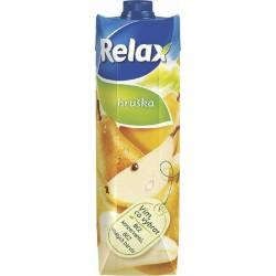 Nápoj juice RELAX 1lt hruška s vlákninou