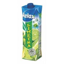 Nápoj juice RELAX 1lt EXOTICA limetka