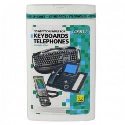 Čistič LOGO ubrousky dezinfekční na klávesnice a telefony dóza/50ks