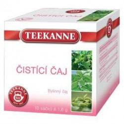 Čaj TEEKANNE bylinný Čistící čaj