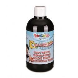 Zboží na objednávku - Barva temperová supervypratelná Toy Color 0.5 litr plast černá