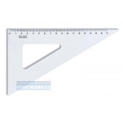 Pravítko trojúhelník 60/200 transparentní Koh-i-noor 744700