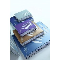 VÝPRODEJ - Blok A5 STEEL CLASS linkovaný 150 listů tmavě modrá