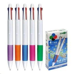 Výprodej - Pero kuličkové 4-barevné plastové
