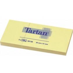 .Lepicí bloček 3M Tartan 05138 38x51mm 12x 100 lístků žlutý