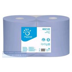 Průmyslová utěrka BLUE 1000 NEUTRAL,PAPERNET ,2vrstvy,modrá,1000útr. 360 m, balení 2ks