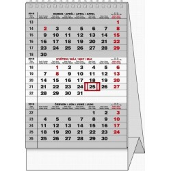 Kalendář 21S/BSA7 Mini Tříměsíční 112x160