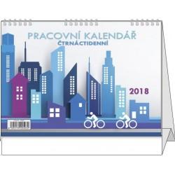 Kalendář 21S/BSB0 Pracovní čtrnáctidenní 210x150