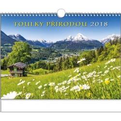 Kalendář 20N/BNG1 Toulky přírodou 450x320