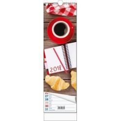 Kalendář 21N/BNB2 vázanka - Pracovní 120x400