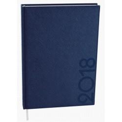 Diář.20 BDA13-1 Adam - tora - denní B6 120x165 modrá