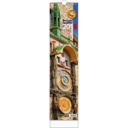 Kalendář 21N/BNB3 vázanka - Česká republika 110x460