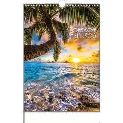 Kalendář 21N/BNF5 Pohádková místa světa 320x450