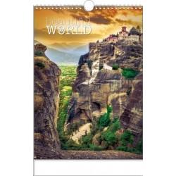 Kalendář 21N/BNF6 Beautiful world 320x450