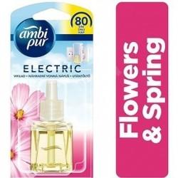 Ambi Pur Electro - NÁPLŇ 20ml.Flower Spring - osvěžovač vzduchu