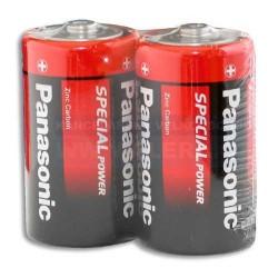 "Baterie mon.velký R20R/2ks Panasonic Special ""D"""