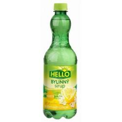 Sirup HELLO hustý sirup 0,7L bezový květ + citron