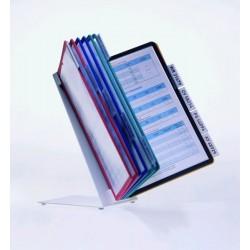 Zboží na objednávku - VARIO® Display System table 10 A4 Durable 5570 černá
