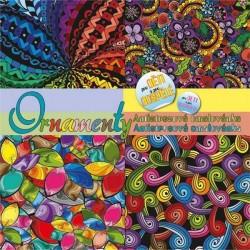 Zboží na objednávku - Omalovánky antistresové 2/3 A4 - Ornamenty