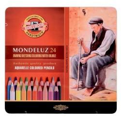 Zboží na objednávku - Pastelky akvarelové 24ks Koh-i-noor 3724 Mondeluz - umělecké