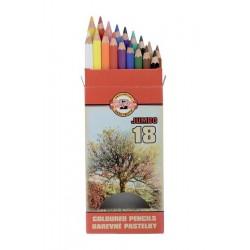 Zboží na objednávku - Pastelky JUMBO 18ks Koh-i-noor 3373 krajina